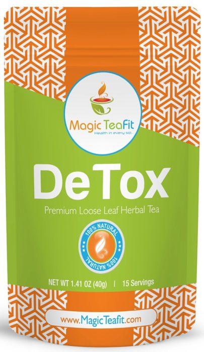 Magic TeaFit Organic DeTox Tea