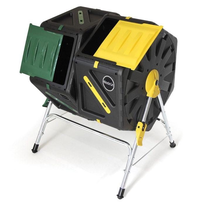miracle gro dual chamber tumbler