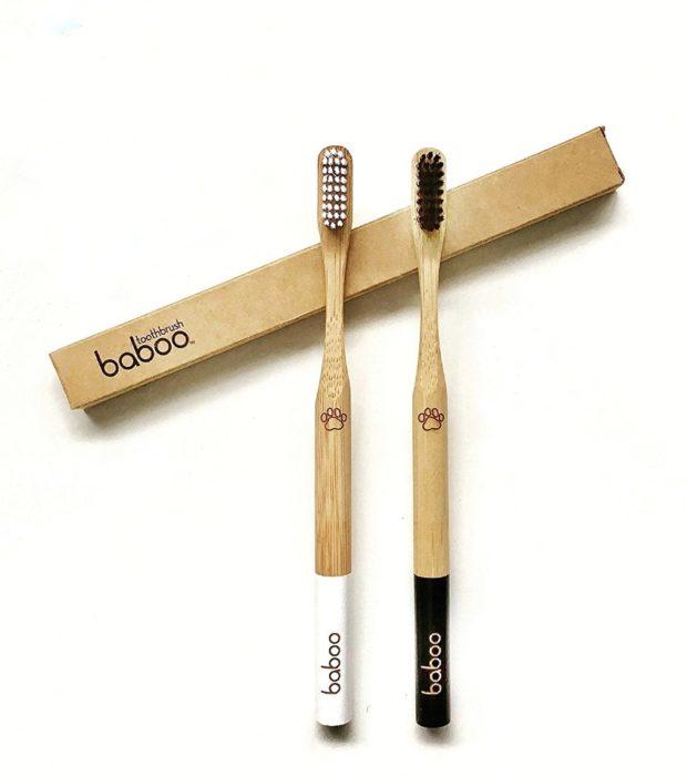 baboo bamboo bristle toothbrush