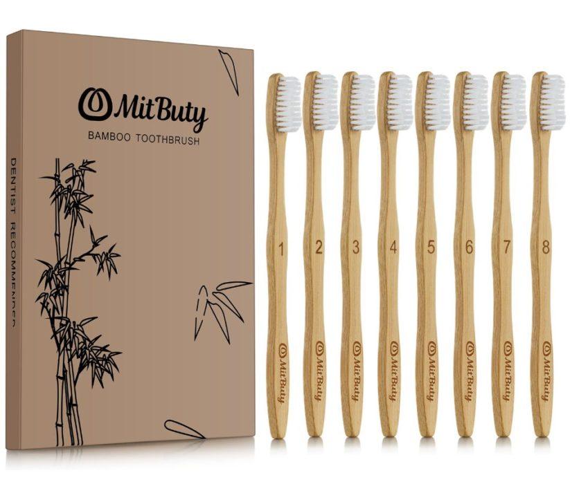 mitbutty natural bamboo toothbrush