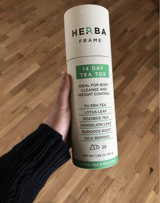 best detox tea harba frame