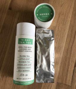 herba frame 14 day tea tox